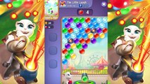 Talking Tom Bubble Shooter - Angela Unlock - Talking Tom Games for Kids - Episode 1 HD