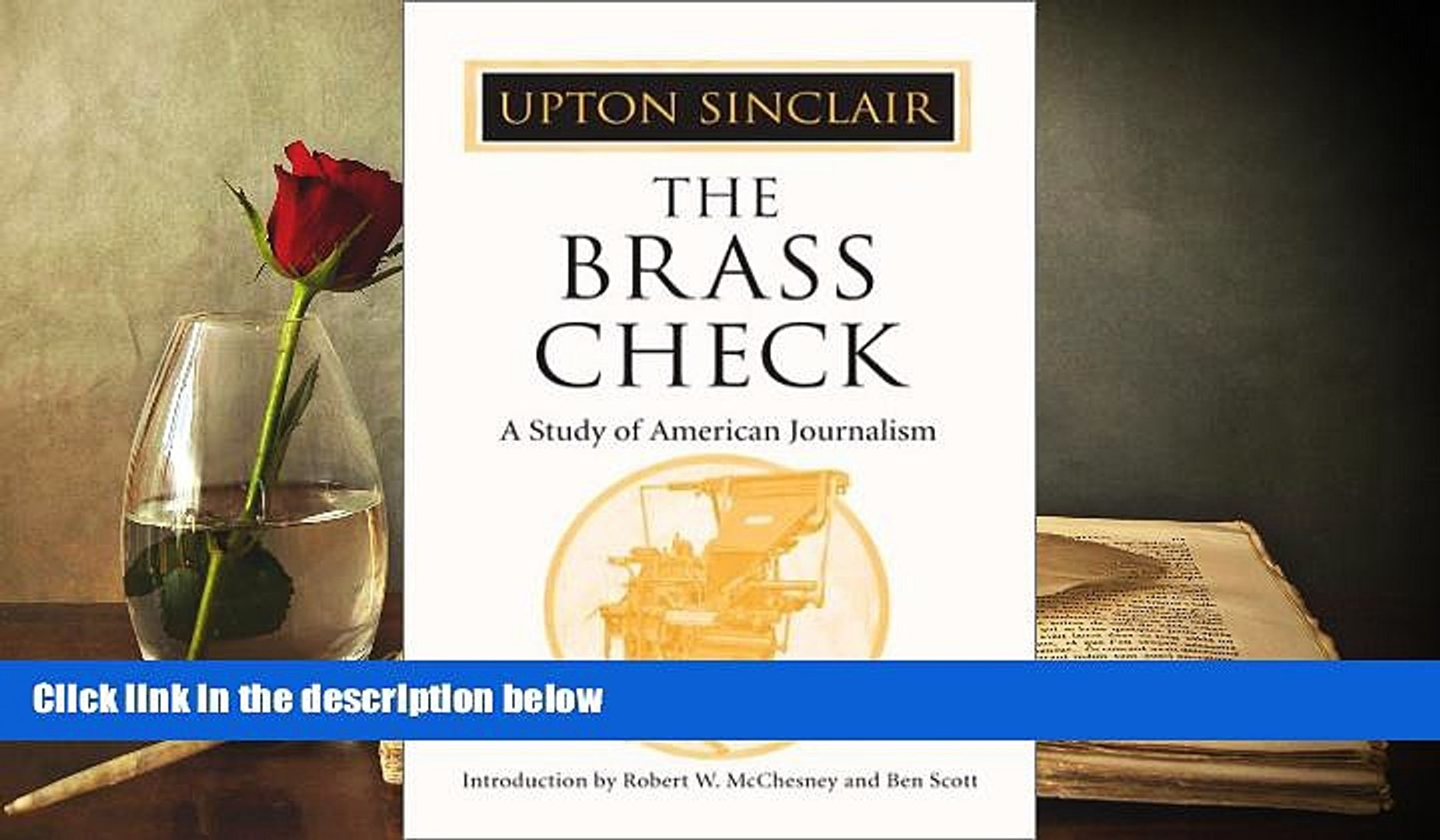 Read  The Brass Check: A Study of American Journalism  Ebook READ Ebook