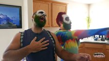 CRAZY Jokers! Joker vs Bearded Joker vs Red Joker | Real Life Superhero Fun Movie