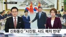 한·중 정상회담...사드 등 북핵 현안 논의 / YTN (Yes! Top News)