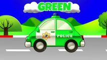 Learn Colors with Police Cars & Fire Trucks | Teach Colours Street Vehicles | Animated Surprise Eggs