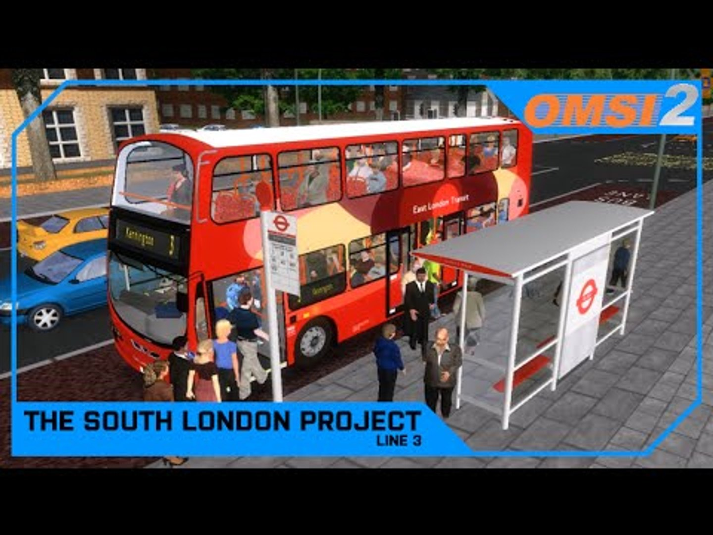 Drawyah plays OMSI 2 - The South London Project Line 3|Episode 4
