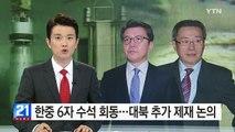 한중 6자회담 수석대표 회동...대북 추가 제재 논의 / YTN (Yes! Top News)
