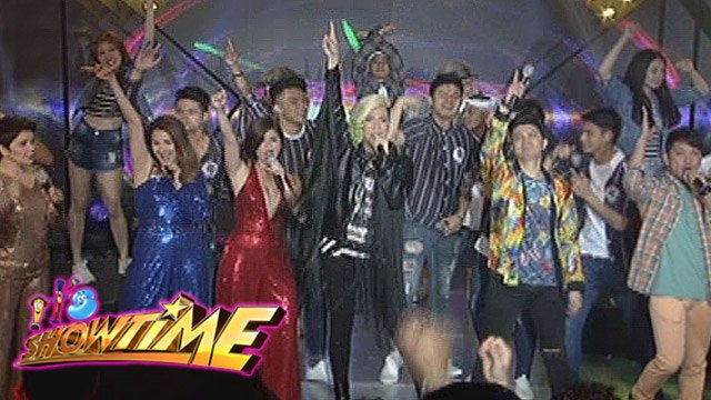 It's Showtime: It's Showtime hosts sing OPM hit songs