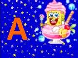 abc italiano - impara lalfabeto con spongebob - italiano per bambini