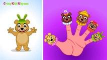 Finger Family (Bear Finger Family) Nursery Rhymes _ Finger Family Songs _ Top English Nursery Rhymes