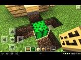 Minecraft pe: วิธีทำ กลไกปิดประตูอัต�