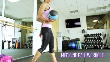 MEDICINE BALL WORKOUT  7 Exercises to FLATTEN and STRENGTHEN YOUR CORE   Autumn Fitness