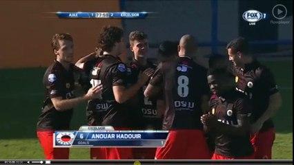 Hadouir Incredible  Goal - Ajax vs Excelsior 1-2  07-01-2017 (HD)