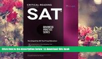 Download [PDF]  SAT Critical Reading Workbook (Advanced Practice Series) (Volume 4) Khalid