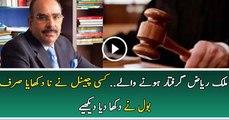 Arrest Warrant For Malik Riaz Issued