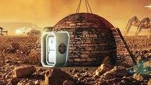 Primeiras casas de Marte relevadas em documentário Natgeo em exposição.