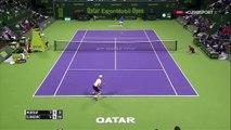 Le point surréaliste entre Andy Murray et Novak Djokovic