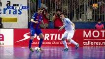 [HIGHLIGHTS] FUTSAL (LNFS): Santa Coloma - FC Barcelona Lassa (3-4)