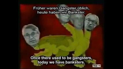 Beppe Grillo sui soldi e sulle banche nel 1998 - Sottotitolato in inglese e in tedesco