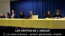 II. Les vertus de l'amour - La vertu d'amour : amitié, générosité, charité, Hélène DEVISSAGUET