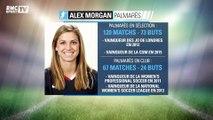La superstar américaine Alex Morgan est enfin arrivée à Lyon
