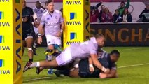 Newcastle Falcons vs Bath (24-22) highlights - rugby -  Aviva Premiership Rugby