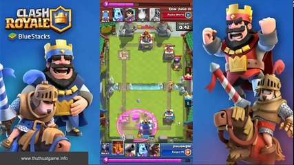 The Power of Electro wizard  [clash royale]
