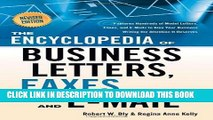PDF Download The Encyclopedia of Business Letters, Faxes, and Emails: Features Hundreds of Model