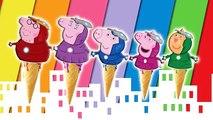 Peppa Pig Iron Man Finger Family Ice Cream / Nursery Rhymes Lyrics and More