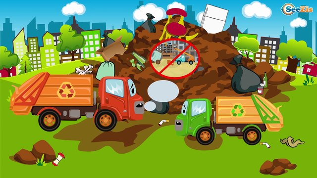 Construction Trucks Cartoon about The Crane and The Truck | Cars Cartoons for kids Episode 44