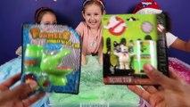 GROSS Gelli Baff Toy Challenge - Warheads Candy - Giant Chupa Chups Lollipops - Shopkins Disney Toys