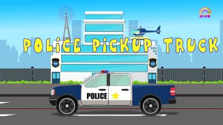 Police Vehicles _ Street Vehicles _ Transport For Kids-ZIAfNYrGGu8