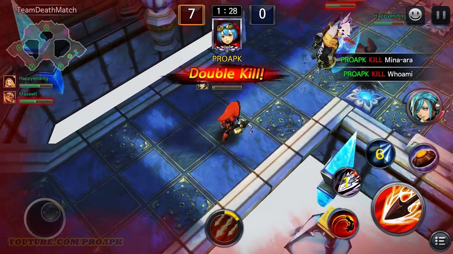 ARENA MASTERS Android Gameplay MOBA (by NEXON) (CBT)
