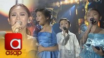 ASAP: Sarah sings Sana'y Maghintay Ang Walang Hanggan together with The Voice Kids