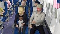 【TomoNews古墓奇譚】高空醉乘客 掌摑鄰座哭鬧嬰兒