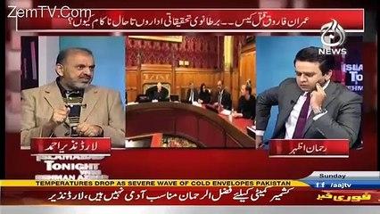 Islamabad Tonight With Rehman Azhar – 8th January 2017