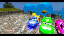 Minions Lightning #Mcqueen Colors Nursery Rhymes ( Songs for Children with Actio