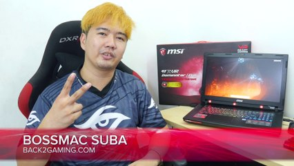 MSI GT72VR Gaming Notebook Review