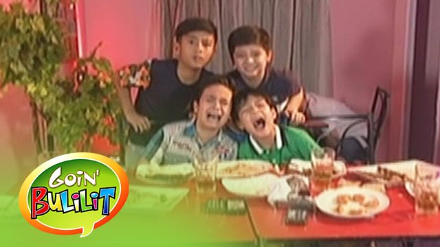 Goin' Bulilit: Boy's night out
