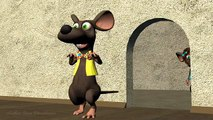 Funny Happy Birthday Song. Mouse sing Happy Birthday To You