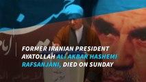 Iran ex-president, Hashemi Rafsanjani, dies at age 82