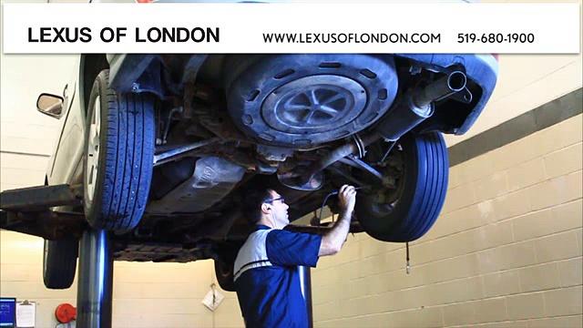 Lexus Oil Change | Lexus Services | London, ON