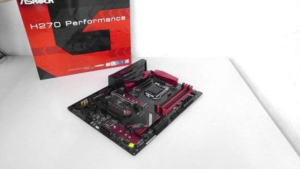 ASRock H170 Performance Motherboard Unboxing and Overview
