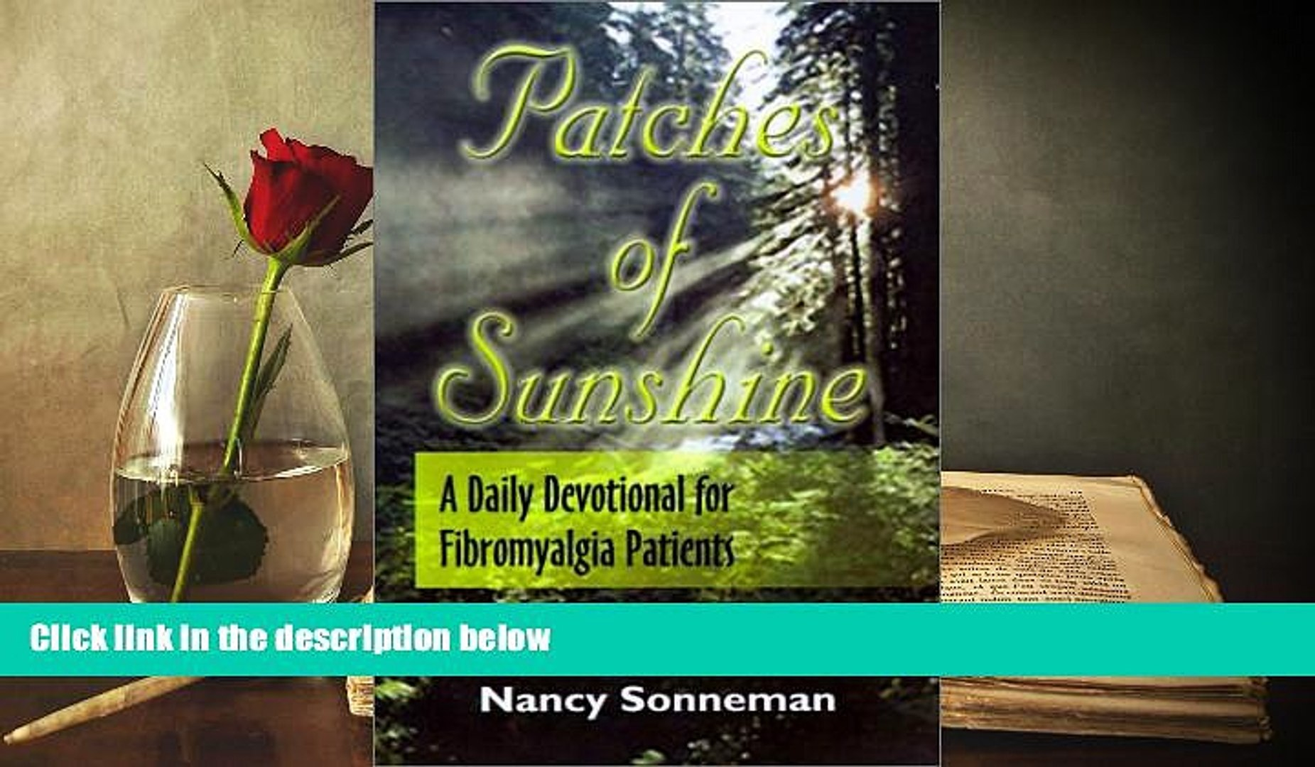 PDF  Patches of Sunshine: A Daily Devotional for Fibromyalgia Patients Pre Order
