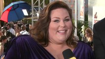 EXCLUSIVE: Chrissy Metz Gives Knee Injury Update on Golden Globes Red Carpet