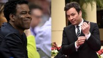 Jimmy Fallon's Chris Rock impression at the Golden Globes was a 'no' for Twitter