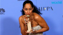 Tracee Ellis Ross Gives Moving Speech After GG Win