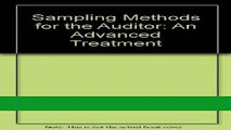 Read Sampling Methods for the Auditor: An Advanced Treatment Populer Collection