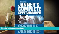 Read  Janner s Complete Speechmaker  Ebook READ Ebook