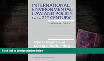 BEST PDF  International Environmental Law and Policy for the 21st Century: 2nd Revised Edition