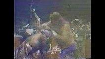 Love Machine/Jake Roberts/Miguel Perez Jr vs Cien Caras/Konnan/Perro Aguayo (AAA 5/15/94)