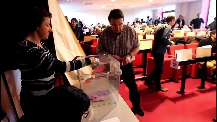 La réaction de Daniel Lacrampe après son élection à la tête de l'intercommunalité du Haut-Béarn