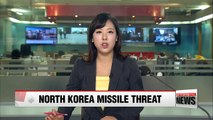 N. Korea could launch its KN-08 or KN-14: Seoul's defense ministry