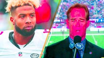 Odell Beckham Jr  PUNCHES Hole in Wall Over Dropped Passes, Addresses Joe Buck Boat Trip Comments